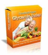 Control Glycemic Index HTML and PSD Template. (PLR)