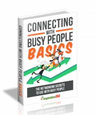 Connecting With Busy People Basics. (MRR)