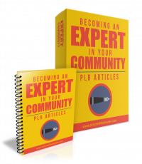 Becoming An Expert In Your Community. (PLR)