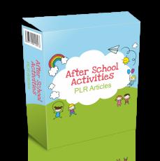 26 After School Activities Artikels. (Englische PLR)