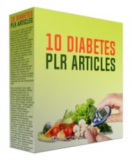 10 Diabetes Articles. (PLR)