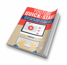 YouTube Quick-Start. (Englische PLR)