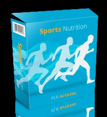 Sports Nutrition Artikels. (Englische PLR)