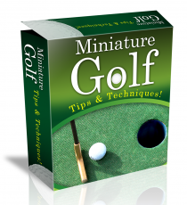 Miniature Golf HTML PSD Template. (Englische PLR)