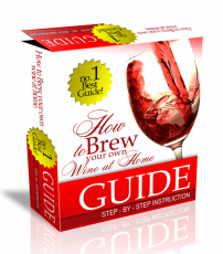 Brew Your Own Wine HTML PSD Template. (PLR)