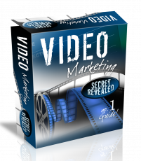 Video Marketing HTML PSD Template. (Englische PLR)