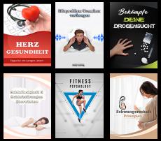 6 PLR Produkte zum Thema Gesundheit. (PLR)