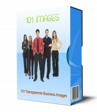 101 Transparente Business Bilder. (PLR)