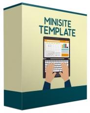 Marketing Miniseiten Template V9. (Englische MRR)
