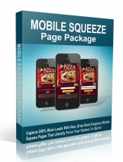 Mobile Squeeze-Page Package. (Englische PLR)