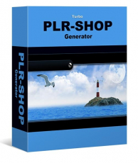 Turbo PLR Shop Generator mit 20 PLR E-Books.