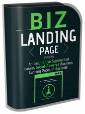 BIZ Landing Page Plugin.