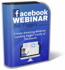 Facebook Webinar Pro Plugin.