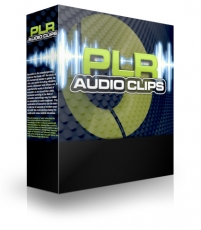 PLR Audio Clip Mega Pack. (PLR)