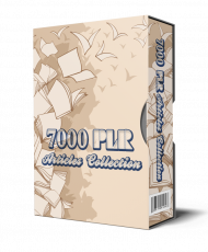 7000 PLR Articles Collection. (Englische PLR)