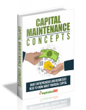 Capital Maintenance Concepts. (MRR)