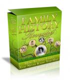 Familiengeschichte HTML & PSD Template. (PLR)