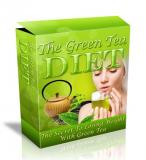 Green Tea Diet HTML and PSD Template. (Englische MRR)