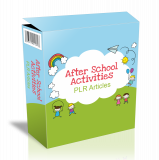 26 After School Activities Artikels. (Englische PLR)