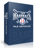 183 Baseball PLR Articles.
