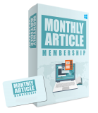 Monthly Article Membership. (RR)