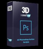 60 Photoshop Action Scripts. (PLR)