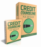Credit Counseling PLR Articles. (PLR)