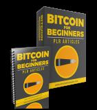 Bitcoin for Beginners Artikels. (Englische PLR)