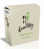 Healthy Vegetarian PLR Articles.