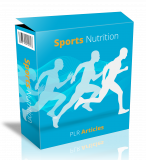 Sports Nutrition PLR Articles.