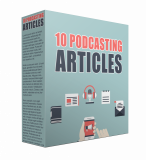 10 Podcasting PLR Articles.