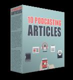 10 Podcasting Artikels. (Englische PLR)