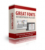 Great Fonts. (PLR)