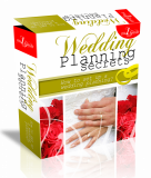 Wedding Planning Secrets HTML PSD Template. (Englische PLR)
