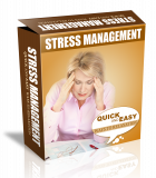 Stress Management HTML PSD Template. (PLR)
