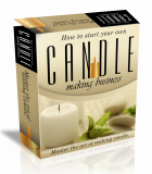 Candle Business HTML PSD Template. (PLR)