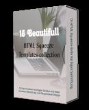 15 Beautiful HTML Squeeze-Seiten Vorlagen. (Englische PLR)