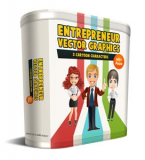 Enterpreneur Vector Graphics.