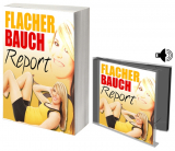 Flacher Bauch Report.