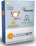 123 Logo Kit. (PLR)