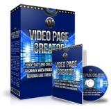 WPVideoPageCreator. (MRR)