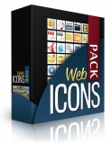 Web Icons Pack. (PLR)