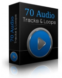 70 Audio Tracks & Loops. (PLR)