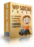 WP Social Media Press Theme. (MRR)