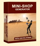 Mini-Shop Generator. (PLR)