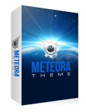 Meteora WP Theme. (MRR)