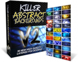 Killer Abstract Background V1 & V2.