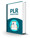 PLR Articles Bank. MRR