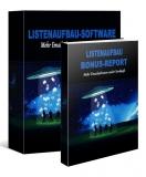 Listenaufbau Software. PLR