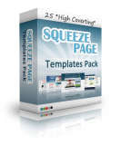 Squeeze Page - Templates Pack. MRR